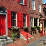 Philadelphia, PA: Elfreth's Alley Homes — Stock Photo #35151769
