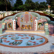 Stock Photo: Kanchanaburi, Thailand: Elaborate Tombstone at Chinese Cemetery