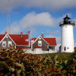Woods Hole, MA:  Nobska Point Light Station — Stock Photo