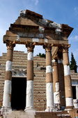 Brescia, Italy: Temple of Vespasian Ruins — Stock Photo