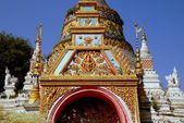 Chiang Mai, Thailand: Wat Saen Fang — Stock Photo