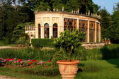 Castelfranco di Veneto, Italy: Civic Park Gardens — Stock Photo