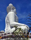 Phuket, Thailand: The great White Buddha Statue — Stock Photo