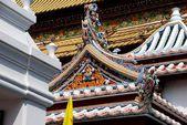 Bangkok, Thailand: Wat Boworniwet — Foto de Stock