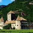 Stock Photo: Bolzano, Italy: Castello Mareccio