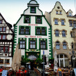 Erfurt, Germany: Renaissance Houses in the Marktplatz — Stock Photo