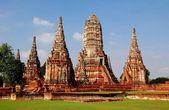 Ayutthaya, Thailand: Wat Chai Wattanaram — Stock Photo