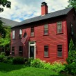 Hancock, NH: 18th Century Colonial-Era Home — Stock Photo