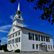 Rindge, NH: 1796 Second Rindge Meeting House — Stock Photo