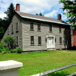 Постер, плакат: Hancock NH: 18th century Saltbox Colonial Home