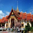 Stock Photo: Phuket, Thailand: Ubosot Hall at Wat Chalong