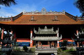 Pengzhou, China: Shi Fo Buddhist Temple — Stock Photo