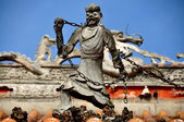 Pengzhou, China: Ghost Figure at Shi Fo Temple — Stock Photo