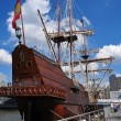 NYC:  El Galeon Spanish Sailing Ship — Stock Photo