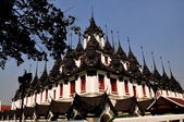 Bangkok, Thailand: The Iron Castle at Wat Ratchanadda — Stock Photo