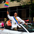 NYC:  Siger Harry Belafonte at the 2013 Gay Pride Parade — Stock Photo