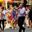 NYC:  Senator Charles Schumer Marching in the Gay Pride Parade — Stock Photo