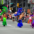 Stock Photo: NYC: Latino Pride Marchers at Gay Pride Parade