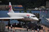 NYC: Brutish Airways Concorde at the Intrepid Museum — Zdjęcie stockowe