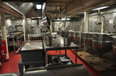NYC: Galley at the U.S.S. Intrepid Museum — Stockfoto