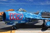 Nueva york: china fuerza aérea jet en museo intrepid — Foto de Stock