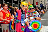 NYC: Roller-Arena at the 2013 Gay Pride Parade — Stock Photo