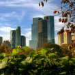 NYC:  Midtown Manhattan Skyline seen from Central Park — Stock Photo