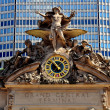 Постер, плакат: NYC: Mercury Statue atop South Front of Grand Central Station