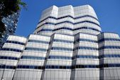 NYC: The A.I.C. Building Designed by Frank Gehry — Stock Photo