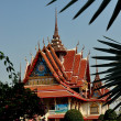 Stock Photo: Samut Prakan, Thailand: Wat Asoke