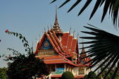 Samut Prakan, Thailand: Wat Asoke — Stock Photo