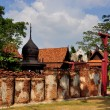 Samut Prakan, Thailand: Thai Hamlet at Ancient Siam Heritage Park — Stock Photo #35638591
