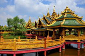 Samut Prakan, Thailand: Pavilion of the Enlightened — Stock Photo