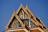 Bangkok, Thailand: Wat Tramit Tympanum — Stock Photo