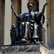 NYC: Alma Mater Statue at Columbia University — Stock Photo