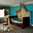 NYC: Empire Bedroom at 1765 Morris-Jumel Mansion — Stok fotoğraf