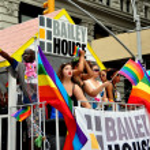 Постер, плакат: NYC: Bailey House Float at Gay Pride Parade
