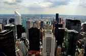 NYC: Vista over the East Side of Manhattan — Stock Photo