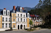 Bai Lu, China: Normandie Style Faux Chateau and Manor Houses — Stock Photo