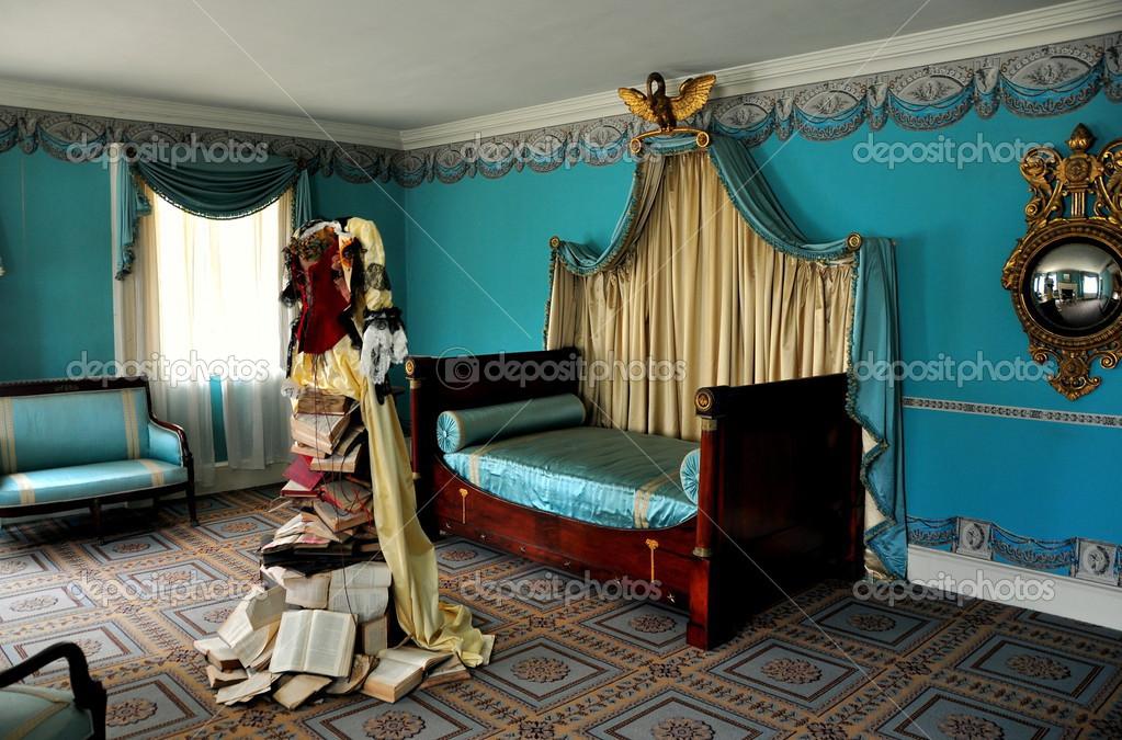New york chambre coucher empire 1765 morris jumel - Chambre a coucher new york ...