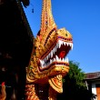 Chiang Mai, Thailand: NagDragon at Wat Sum Pao — Stock Photo #35885531