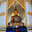 Chiang Mai, Thailand: Buddha Figures at Wat Chomphu — Stock Photo