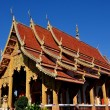 Stock Photo: Chiang Mai, Thailand: Ubosot Sanctuary Hallat Wat Chetawan