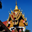 Stock Photo: Chiang Mai, Thailand: Wat Prasat Drum Tower
