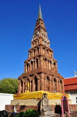 Lamphun, Thailand: Suwanna Chedi at Wat Phra That Haripunchai Maha Vihan — Stock Photo