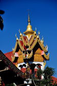 Chiang Mai, Thailand: Wat Prasat Drum Tower — Stock Photo