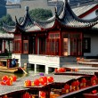 Chengdu, China: Long Tan Water Town — Stock Photo