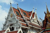 Bangkok, Thailand: Wat Hua Lamphong — Stock Photo
