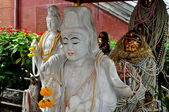 Bangkok, Thailand: Guan Yin Buddha Shrine — Stock Photo