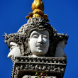 Chiang Mai, Thailand: Buddha Faces at Wat Bupparam — ストック写真